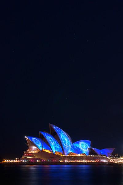 Opera House - Vivid sky