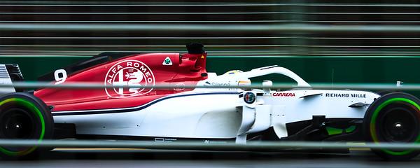 Marcus Ericsson - Melbourne GP 2018