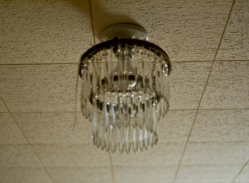 Over the years, I spent hours staring at this light fixture.