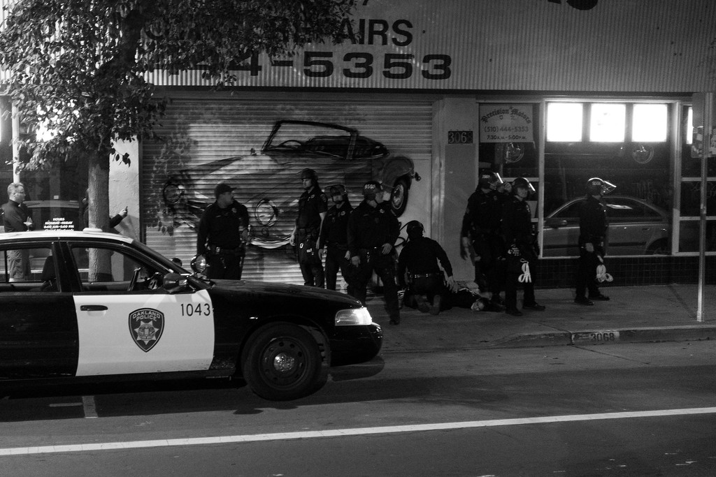 Oakland Protest 11/10/16