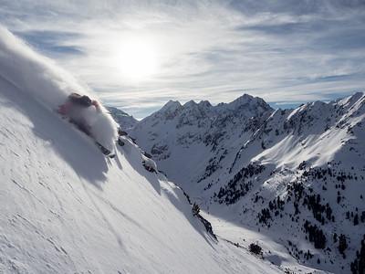 felix Dilli, freeride, Stubai Kuhtai, Tirol Austria