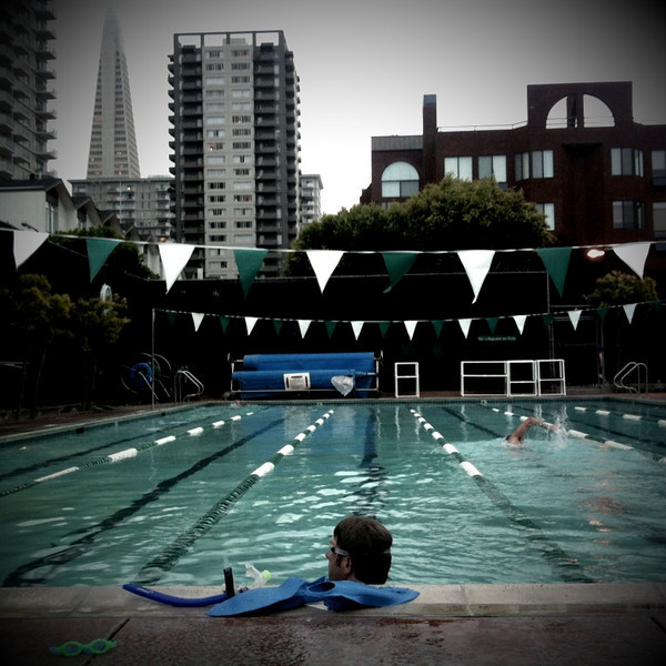 23 june. after swim practice at golden gateway.