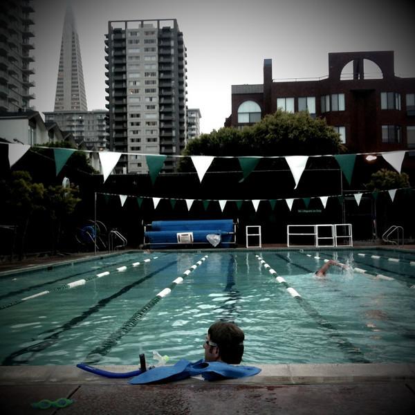 23 june. after swim practice at golden gateway.