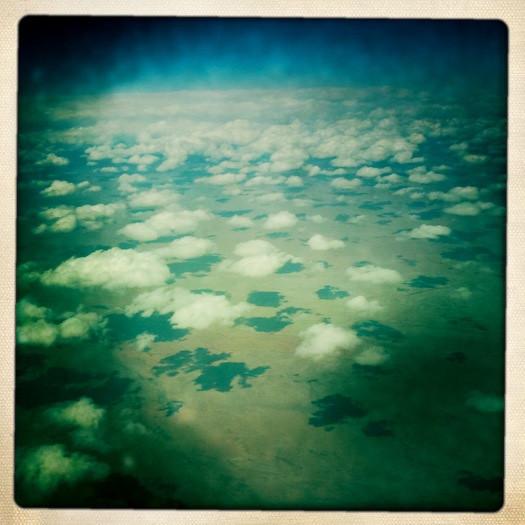 19 march. flying over arizona.