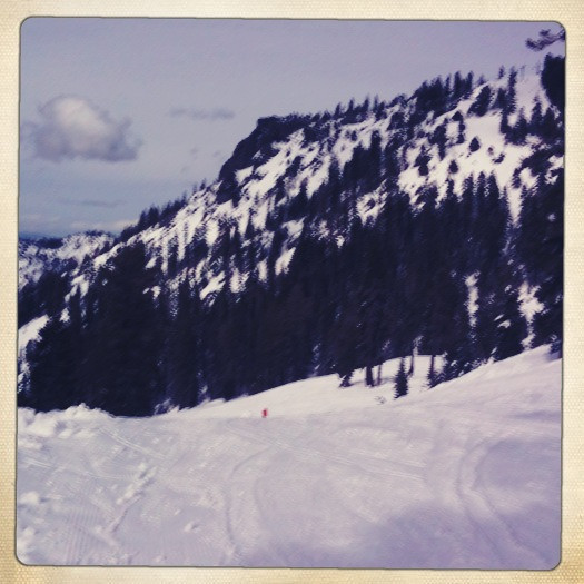 5 march. just got off the hot wheels lift at alpine meadows.