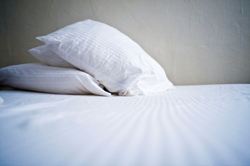 28 december. new sheets! a pillow is coming.