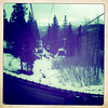 7 march. the northstar gondola.