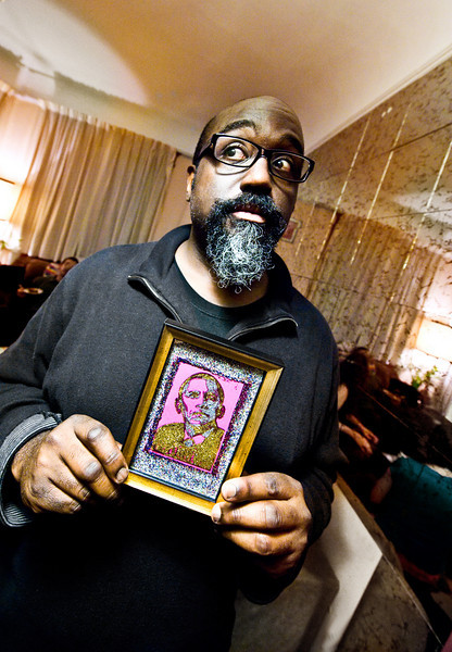 21 december. walter won the coveted glitter obama.