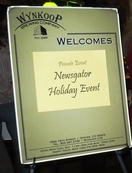 Jan 9:  NewsGator's 6th Annual Holiday Party