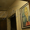 <b>Day 46—17 December 2011 The writing on the wall</b>  . . . on the mirror, that is. I have long kept a dry-erase marker in the bathroom for quick notes to self near to where I do some of my best thinking (the shower—where else does a mom get peace?). The artwork is NOS' third- or fourth-grade Modigliani-style self-portrait.