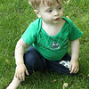 <b>Day 195—14 May 2012 Sweet boy</b>  This afternoon, I planned to shoot our latest blooms in front; but, when I got out there, young Will was playing. He's a much better subject!