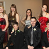 <b>Day 116—25 February 2012 Beautiful kids</b>  Tonight is Turnabout, and everyone is gorgeous and ready to go! I like that the kids naturally arranged themselves with the reds on the outside and the metallics on the inside.