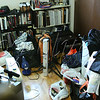 <b>Day 196—15 May 2012 He's baaaaaack!</b>  NOS returned from school late Sunday night and dutifully dumped all of his dorm room contents into his room. Poor Sylvia wanted to clean <i>at least</i> the floor in there Monday; but, there isn't really much floor exposed at the moment. Hopefully, he'll have a chance to sort/put away soon, so he doesn't feel like a squatter all summer.