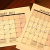 <b>Day 58—29 December 2011 Time flies when you're having fun.</b>  It's that time of the year again—new calendars! I have some fun Page-a-Day calendars; but, I also like to have a couple good utilitarian calendars for the inside of the medicine cabinet (recording how many days I wear my contacts) and the office wall (multiple uses). Time really <i>does</i> fly—today, Wendy (of <i>vin de primeur</i> fame) and I had a four-plus hour lunch date!