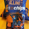 "<b>Day 308—4 September 2012 Orange and blue food</b>  I have, at several and various times of my life, eaten orange and blue foods purposely. Recently, Wendy alerted us to these attractive tortilla chips. DH picked some up today, which we taste-tested before sharing. Let's just say that they should be eaten with a really tasty salsa. I'll channel one of Billy Crystal's old SNL characters: ""It is better to look good, than to feel good"" [if by ""feel"" you mean ""taste""]."