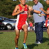 "<b>Day 301—28 August 2012 Another first</b>  Today, I attended/shot NTS' first varsity Cross Country meet. The team was particularly anxious to win, because they're only a few wins shy of breaking the conference all-time winning streak record. Adam feels great about his first varsity effort—he finished 14th overall, and 9th for his team. Pictured is teammate/""bro"" Argeni, approaching the chute."
