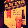"<b>Day 92—1 February 2012 You need <i>something</i>.</b>  I'm not an ale fan (this was, very possibly, the first taste I've had in 20 or so years); so, I can't say that the ale spoke eloquently to me. What I ""heard"" was ""I'm a strange, sour grapefruity beer-alike."" DH (whose drink it was) thought it was just OK. Ringing endorsement, I know."