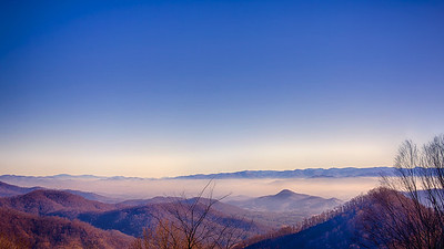Monday, January 7, 2013 Blue Ridge Mountains