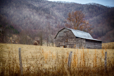 Tuesday, January 8, 2013 Old Barn in Valley