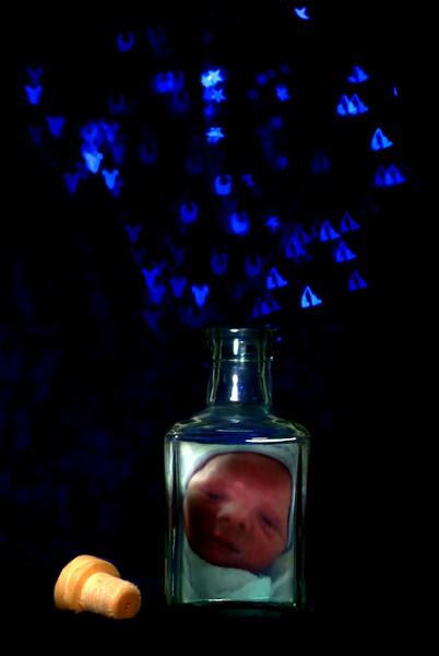 Bottled Bokeh Memories of a Baby Boy<br /> <br /> 81/365