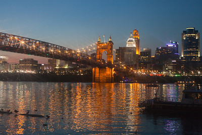 RoeblingSuspension Bridge, Cincinnati, Ohio