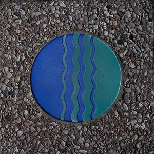 Ohio Riverwalk marker.