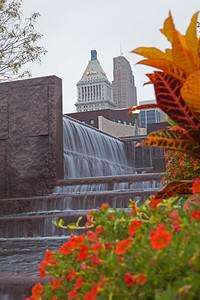 """Urban Waterfalls"", Smale Park, Cincinnati, Ohio"