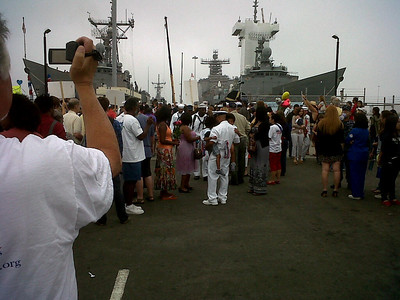 USS Gary homecoming
