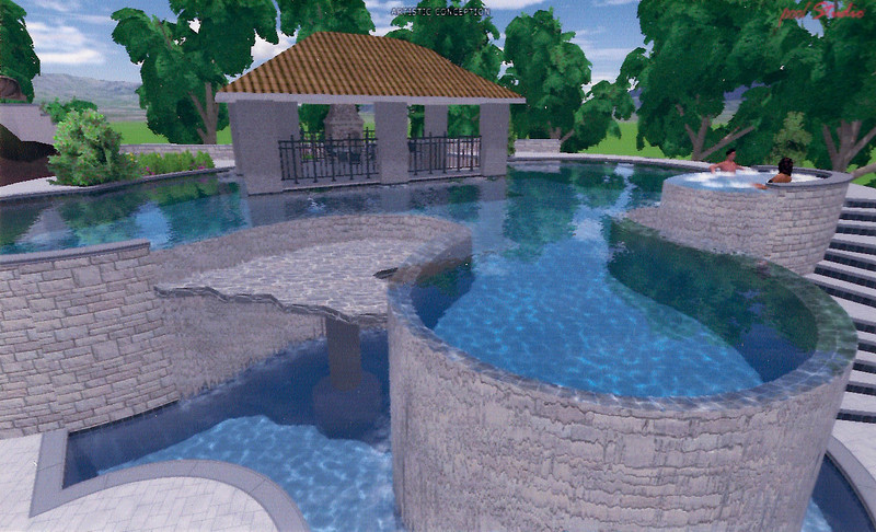 HARDING - Custom Resort with Luxury Pool and Cabana, etc.