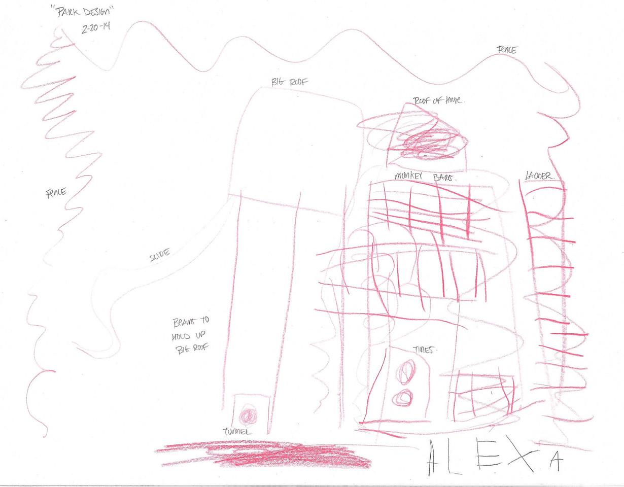 Alexa's First Playground & Park Design