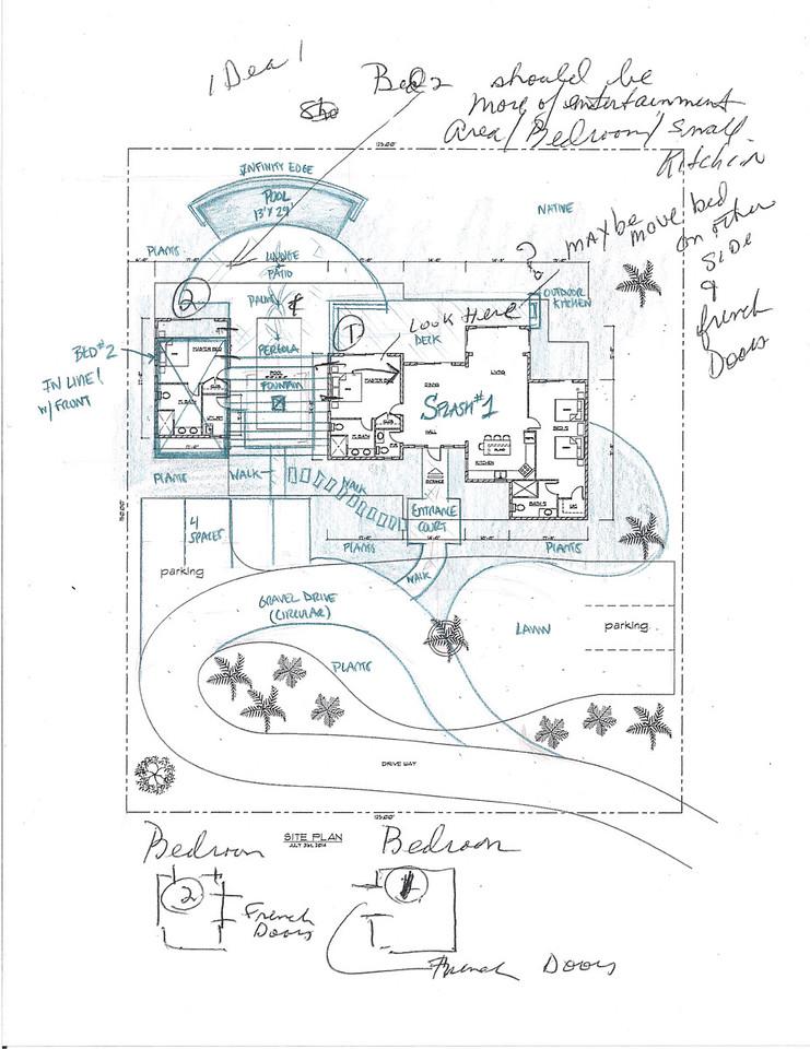 Initial Pool Design Concept