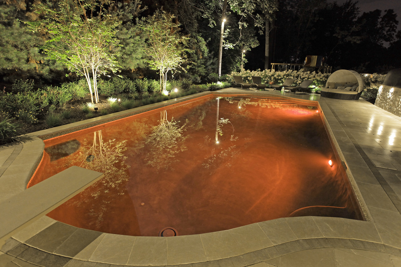 LED Pool Lights-Orange