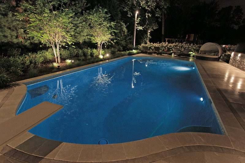 LED Pool Lights-Blue