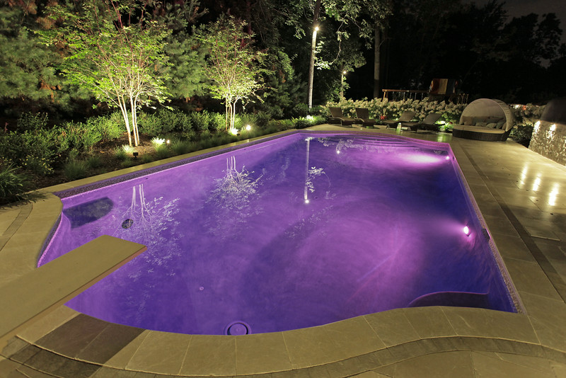 LED Pool Lights-Purple