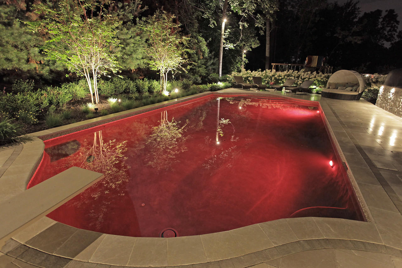 LED Pool Lights-Red