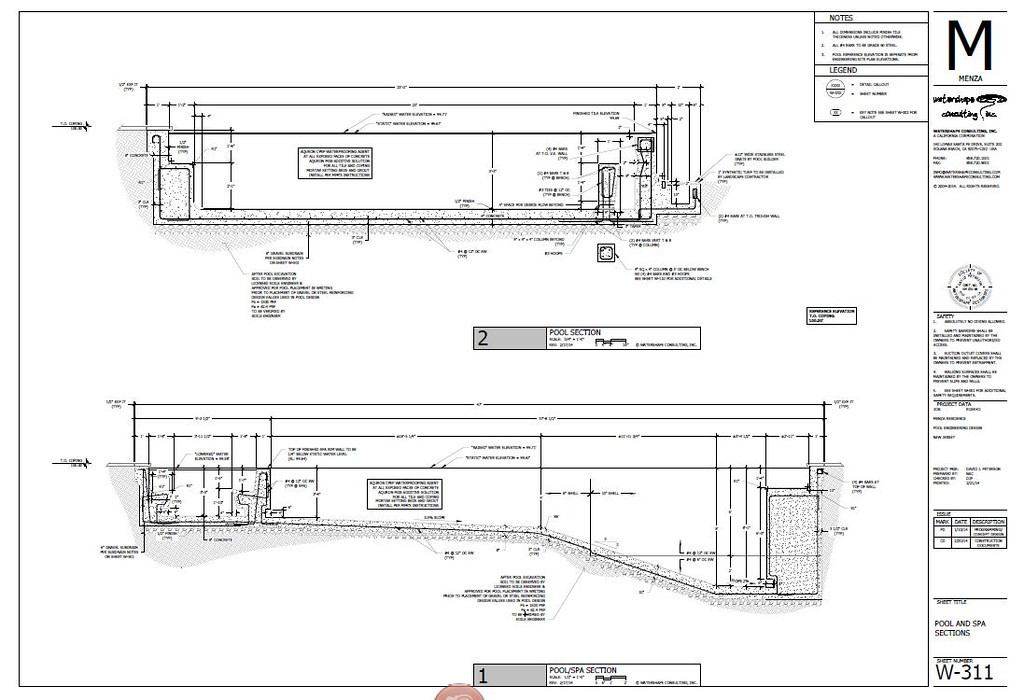 Pool Hydraulic and Structure Design