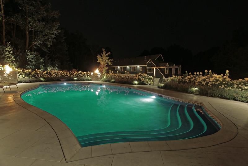 LED lights-Aqua