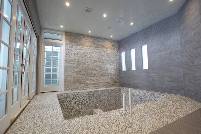 MENDHAM - INDOOR Therapy Pool for Modern Farm House
