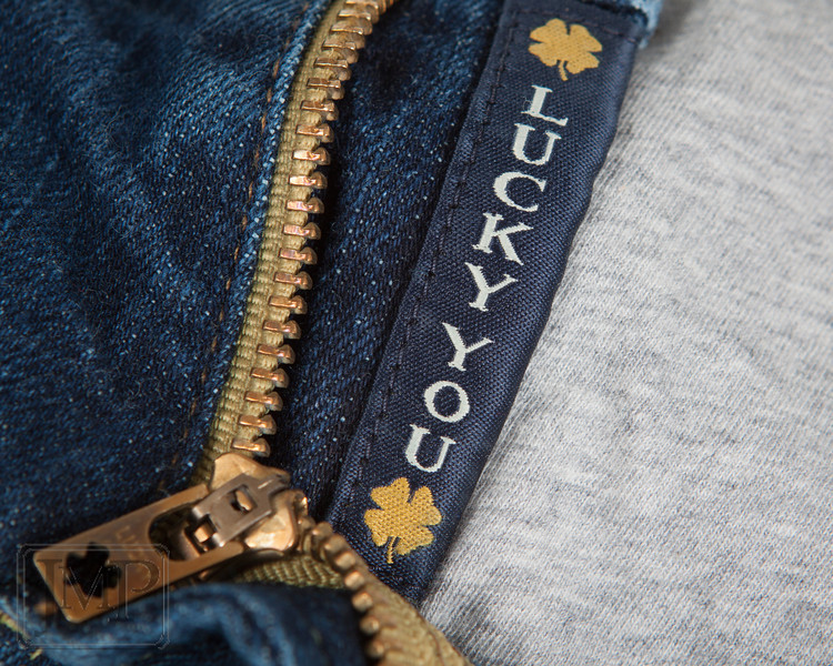 "Lucky Me - Week 11: ""My lucky something"" - I really don't keep any kind of lucky charms to speak of, so when I came to this week's theme I really wasn't sure what to choose.  My wife wears these Lucky brand jeans though, and I do feel pretty darn lucky to have such a good woman.  So my lucky something... well, you know what it is."