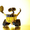WALL-E on White - Outtake