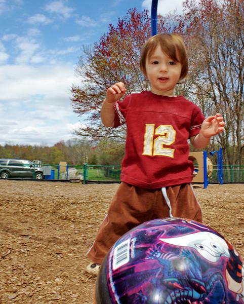 Boy Loves Ball