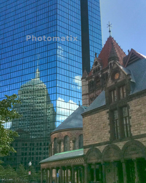 Three Buildings in Boston - 207/365