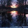 Sunset Over the Creek - 076/356