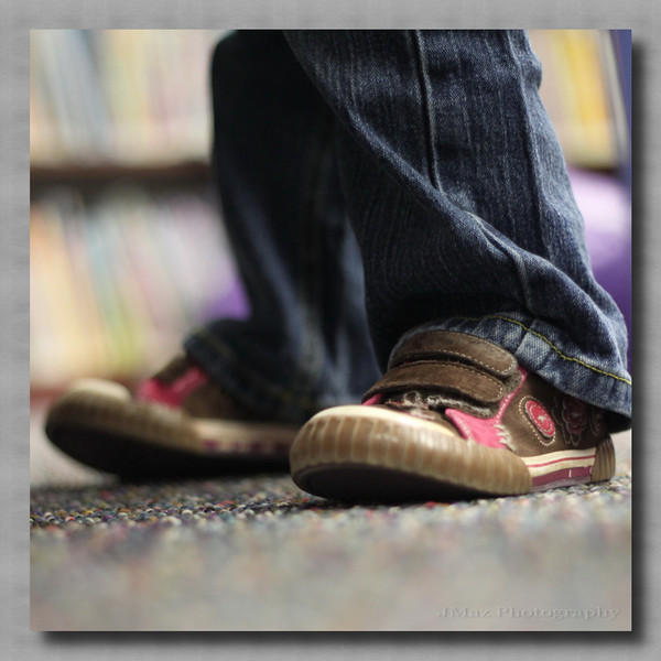 Reading Shoes - 015/365