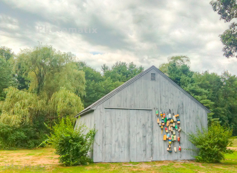 Buoys on a Barn - 224/365