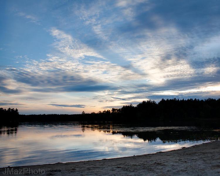 Dusk on Heart Pond - 270/365