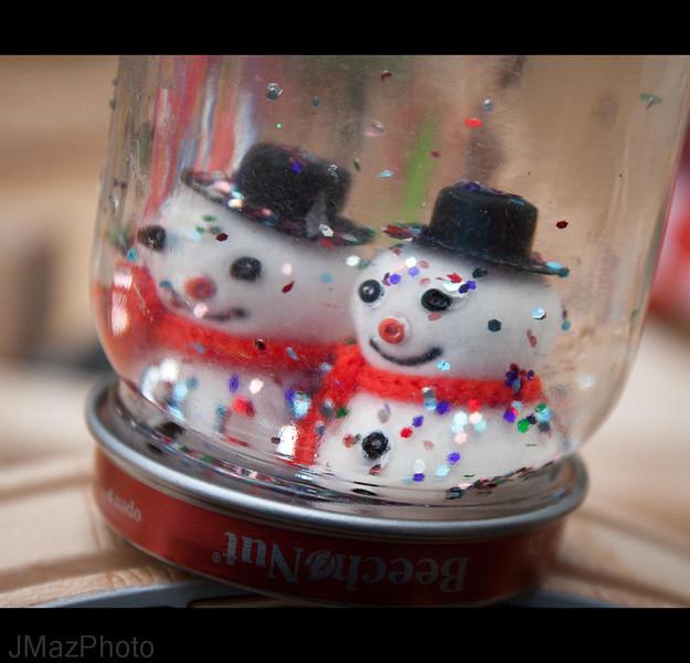 Glitter Snowmen - 340/365