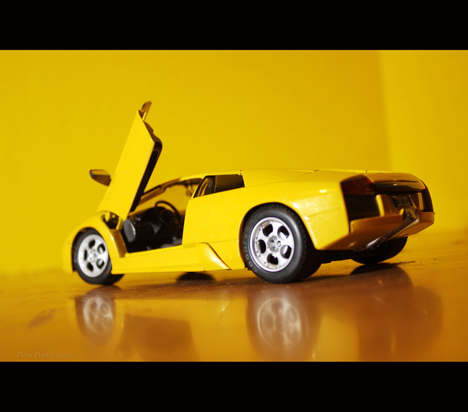Yellow Lamborghini - 105/365