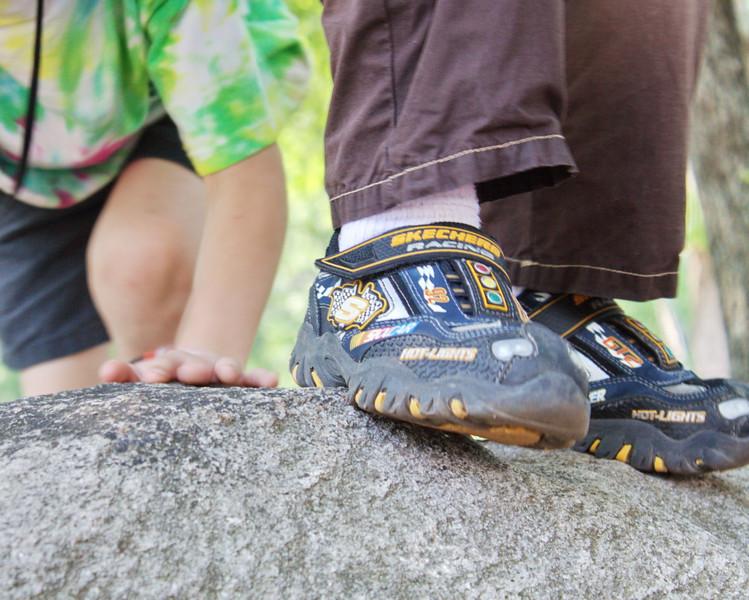 Climbing Skechy Rock - 151/365