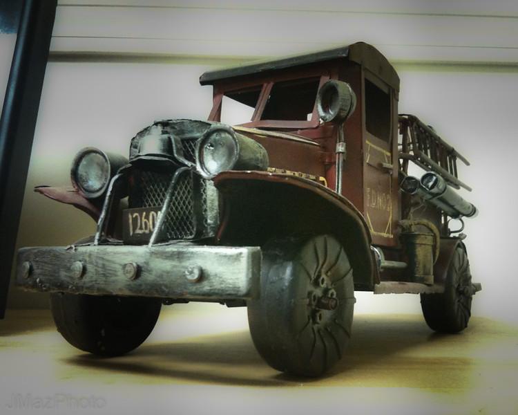 Tin Fire Truck - 229/365